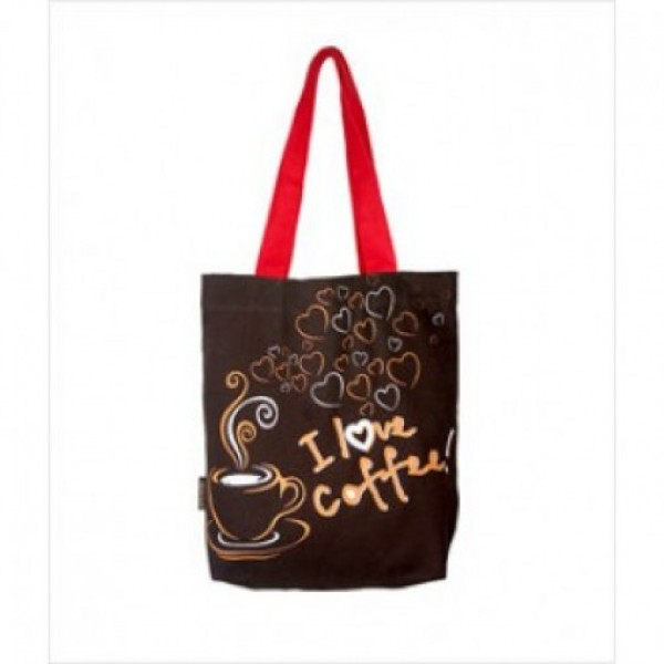I Love Coffee Bag