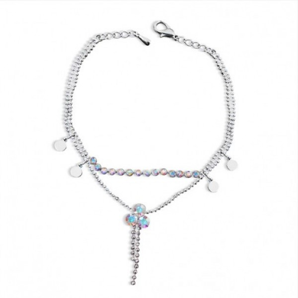 Charming Twin Chain Anklet