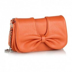 Bright Orange Wallet