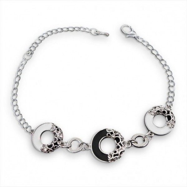 Striking Silver Girls Bracelet