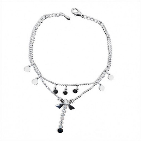 Fashionable Twin Chain Anklet