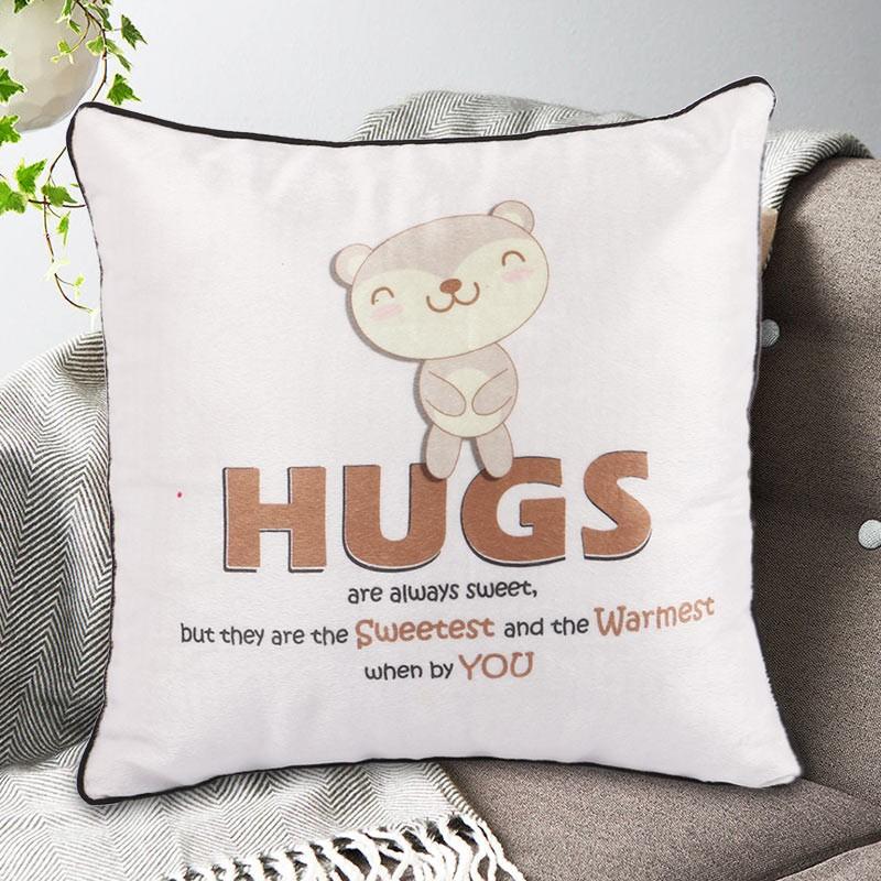 Warm Hugs Cushion