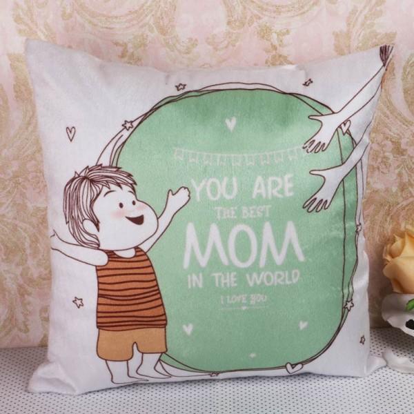 Best Mom Printed Cushion