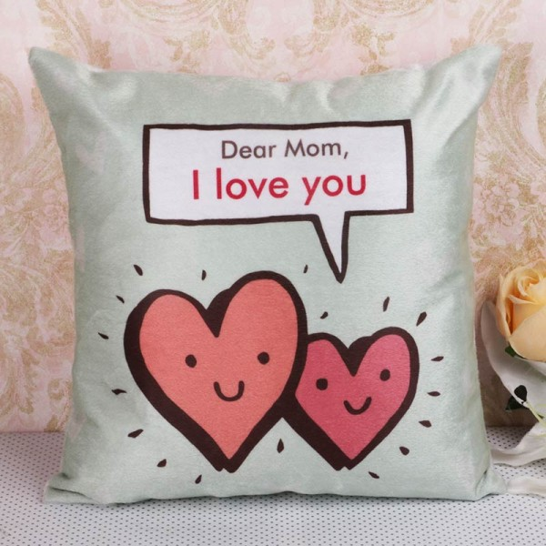 Printed Cushion for Mom