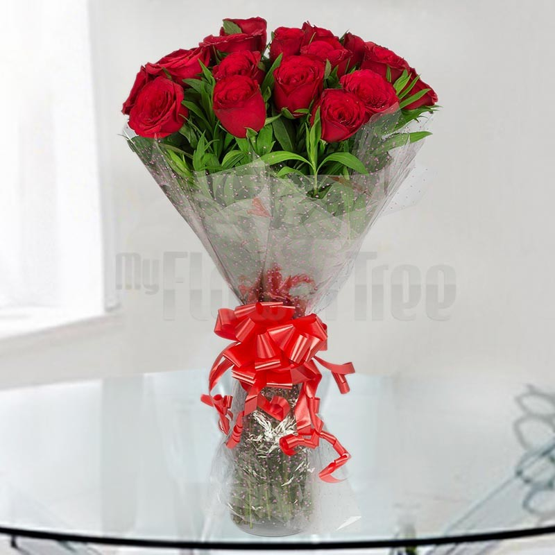 20 Red Roses Bouquet Online