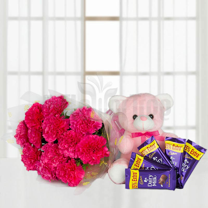 Pink Carnation Hamper