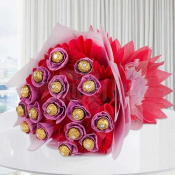 16 Pcs Ferrero Rocher Bouquet