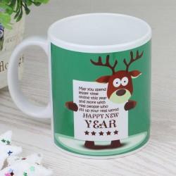 Rudolph New Year Mug