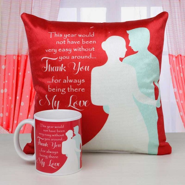 Mug and Cushion for New Year