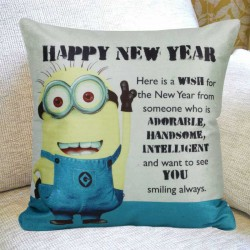 Minion Year Cushion