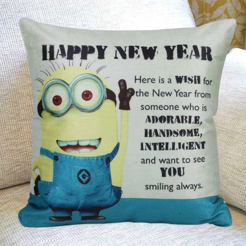 Minion Year Cushion