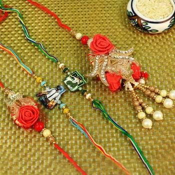 Unique N Lovely Rakhi Set