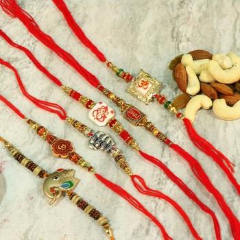 HeartTouching Rakhi set combos