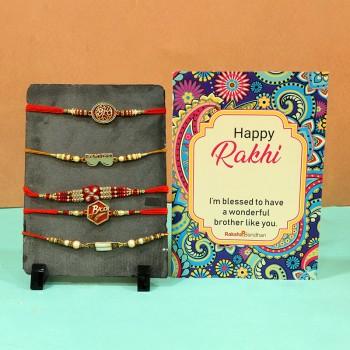 rakhi cards handmade
