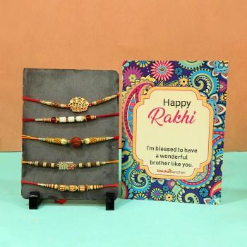 Greeting cards N Rakhi Combos