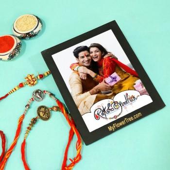 rakhi photo collage