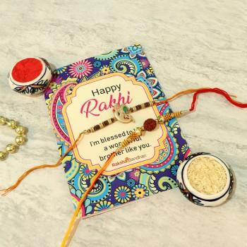 happy raksha bandhan card