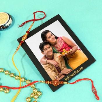 Beautiful Rakhi Set Combo
