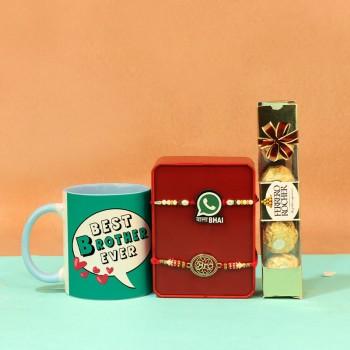 Classic Coffeemugs N Rakhi sets