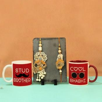 Family Rakhi set and Coffeemug