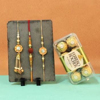 Tempting Ferrero Rocher with Rakhi sets