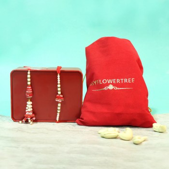 Cashew with Ruby Lumba Set