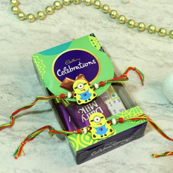 Duo Minion Rakhi Celebration Pack