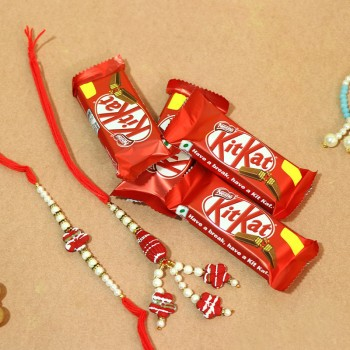Lovable Rakhi N Chocolate Combo