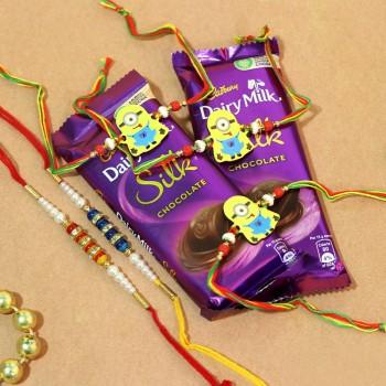 Best Rakhi N Chocolate Combo