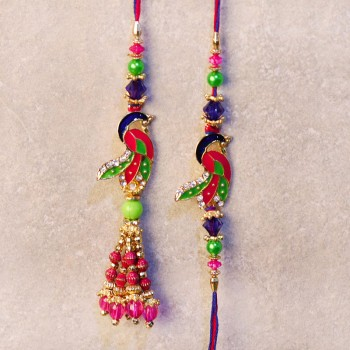 rakhi of peacock