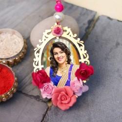Personalised Floral Lumba Rakhi