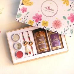 Lavish Bhaiya Bhabhi Rakhi Gift