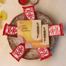 Crunchy Chocolaty Rakhi Hamper