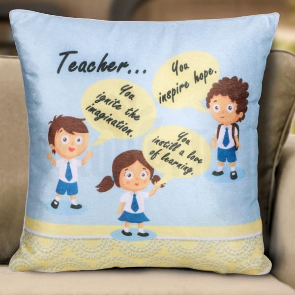Teacher... Cushion