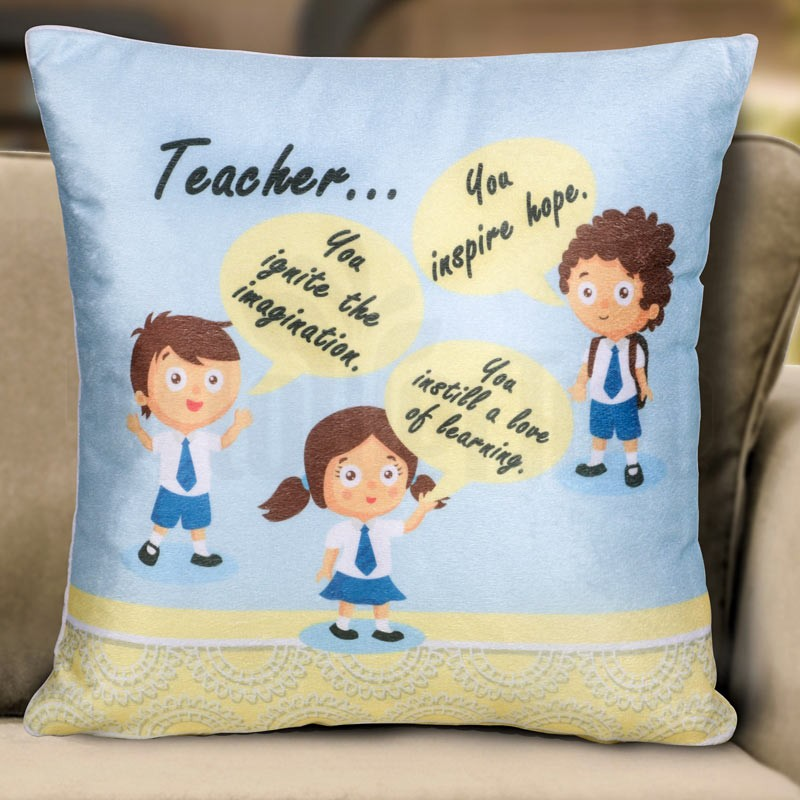 Teacher... Cushion