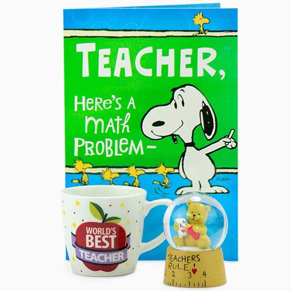 Hamper for Worlds Best Teacher