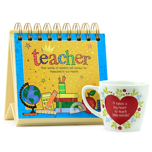 Quotation Calendar n Mug Hamper