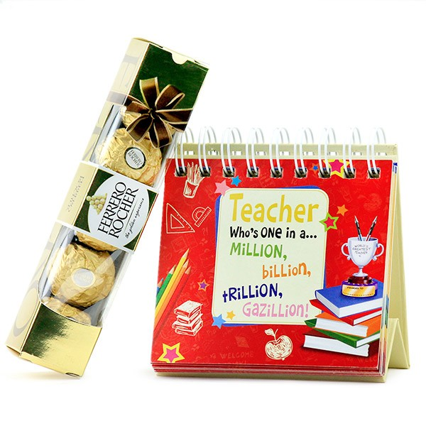 Quotation Calendar n Ferrero Rocher Hamper