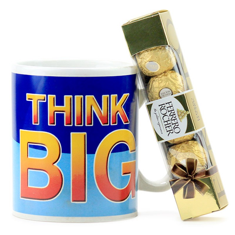 Think Big Mug n Chocolates Hamper