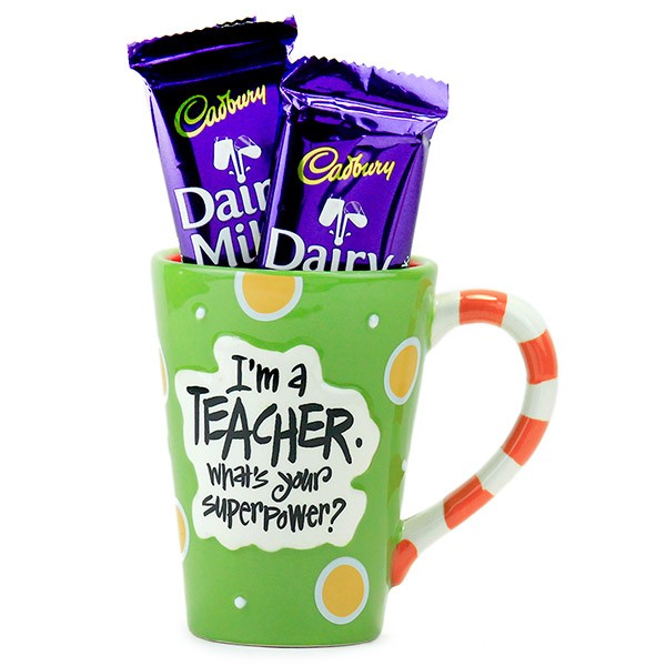 Stylish Mug n Chocolates Hamper
