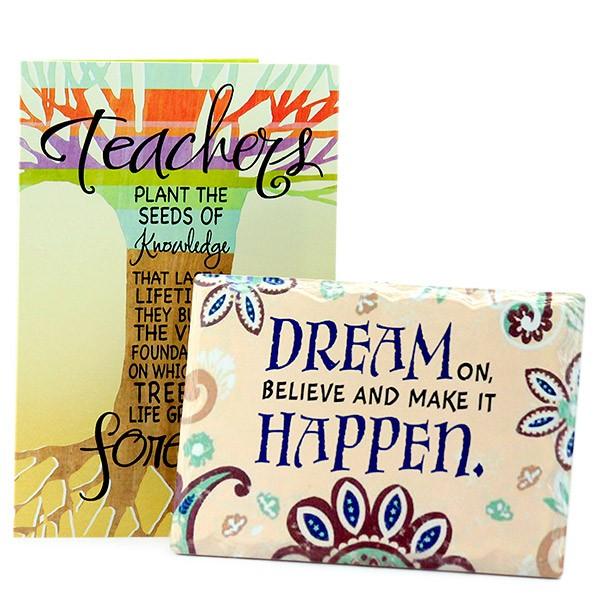 Desk Quotation n Card for My Teacher