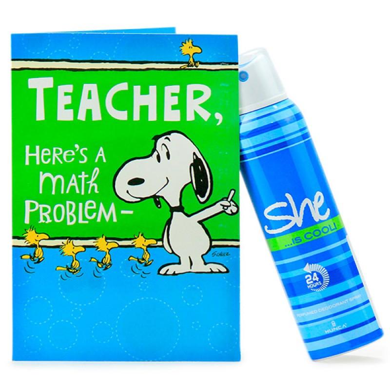 Deo n Card for My Cool Teacher